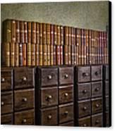 Vintage Storage Canvas Print