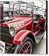 Vintage Studebaker Fire Engine Canvas Print by Douglas Barnard