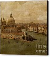 Vintage Venice Canvas Print by Lois Bryan