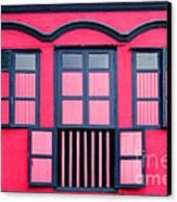 Vintage Windows Canvas Print by William Voon