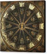 Virgin Mary Cupola Canvas Print by Taylan Apukovska