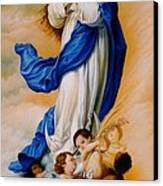 Virgin Of The Immaculate Conception After Murillo Canvas Print