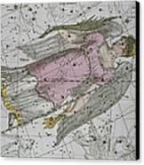 Virgo From A Celestial Atlas Canvas Print by A Jamieson