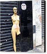 Viva O Meu Corpo - Sao Paulo Canvas Print by Julie Niemela