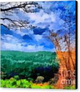 Vivid Landscape Canvas Print by George Paris