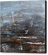Voice Of The Sea  Canvas Print by Ismeta Gruenwald