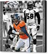 Von Miller Broncos Canvas Print by Joe Hamilton