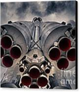 Vostok Rocket Engine Canvas Print