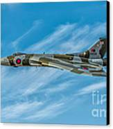 Vulcan Bomber Canvas Print by Adrian Evans