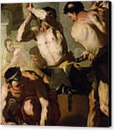 Vulcans Forge Canvas Print by Luca Giordano