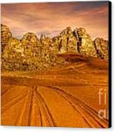 Wadi Rum Jordan Canvas Print