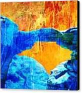 Wadi Rum Natural Arch 2 Canvas Print