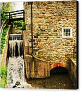 Wagner Grist Mill Canvas Print by Paul Ward