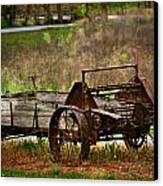 Wagon Canvas Print by Marty Koch