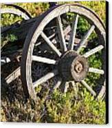 Wagon Wheels Canvas Print by Steven Parker