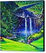 Waimea Falls Lv Canvas Print by Joseph   Ruff