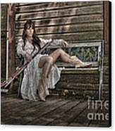Waiting Canvas Print by Naman Imagery