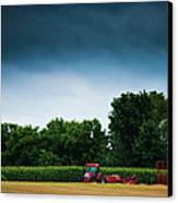 Waiting Out The Storms Canvas Print by Christi Kraft