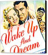 Wake Up And Dream, Us Poster, From Left Canvas Print