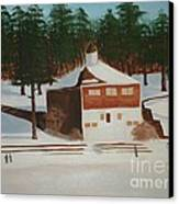 Walden Pond Canvas Print by Janet C Stevens