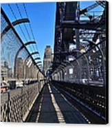 Walk Across Sydney Harbour Bridge Canvas Print