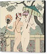 Walking Around Naked As Much As We Can Canvas Print by Joseph Kuhn-Regnier
