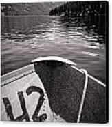 Wallowa Lake Canvas Print by Whitney Nanamkin