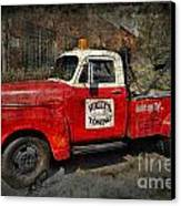 Wally's Towing Canvas Print by David Arment