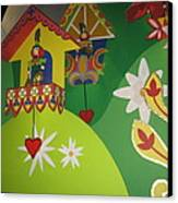 Walt Disney World Resort - Magic Kingdom - 1212109 Canvas Print by DC Photographer