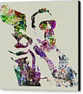 Walter Big Lebowski  Canvas Print