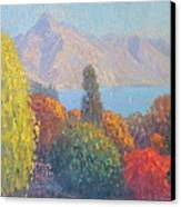 Walter Peak Queenstown Nz Canvas Print by Terry Perham
