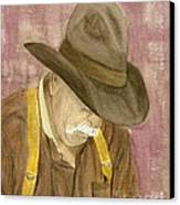 Walter Canvas Print