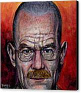 Walter White Canvas Print by Mark Tavares