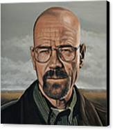 Walter White Canvas Print by Paul Meijering