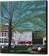 Walton's 5 And 10 Canvas Print by Clinton Cheatham