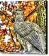 War Eagles - 28th Massachusetts Volunteer Infantry Rose Woods The Wheatfield Fall-a Gettysburg Canvas Print by Michael Mazaika