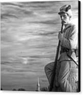 War Fighters - 149th Pa Infantry 1st Regiment Bucktail Brigade-a1 Near Mc Pherson Barn Gettysburg Canvas Print by Michael Mazaika