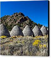 Wards Charcoal Ovens Canvas Print by Robert Bales