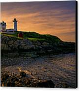 Warm Nubble Dawn Canvas Print