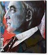 Warren G. Harding Canvas Print
