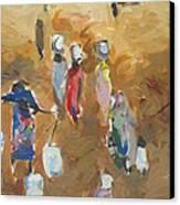 Washing Day 2 Canvas Print by Negoud Dahab