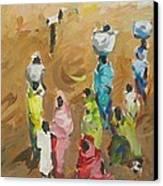 Washing Day Canvas Print by Negoud Dahab