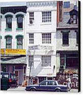 Washington Chinatown In The 1980s Canvas Print by Thomas Marchessault