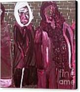 Washington Dc Henderson Memorial Ladies  Canvas Print