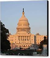 Washington Dc - Us Capitol - 011313 Canvas Print by DC Photographer