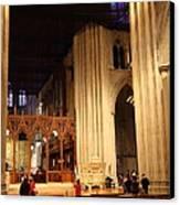 Washington National Cathedral - Washington Dc - 011312 Canvas Print by DC Photographer