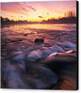 Water Claw Canvas Print