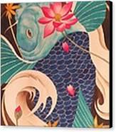 Water Dragon Canvas Print by Robert Hooper