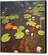 Water Lilies Canvas Print by Isaak Ilyich Levitan