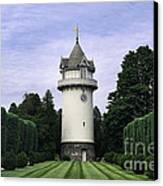 Water Tower Folly Canvas Print